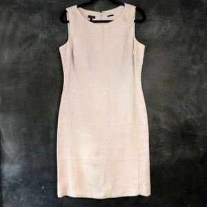 TALBOTS | Irish Linen Lavender Sheath Dress Sz 10